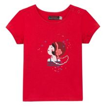 Catimini Girls Printed T-shirt