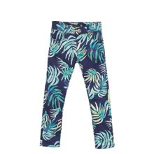 Catimini Girls Leaf-Print Trousers