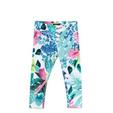 Catimini Girls Leaf Print Leggings