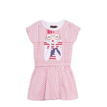 Catimini Girls Sailor Stripe dress
