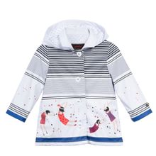 Catimini Girls Hooded Raincoat