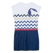 Catimini Girls Geometric Print Dress