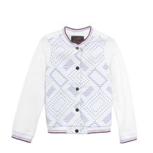 Catimini Girls Jacquard Print jacket