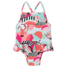 Kenzo Girls swimsuit `Animals Party` theme