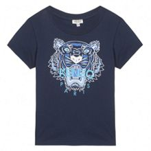 Kenzo Boys-T-Shirt `Tiger Kiosque` theme
