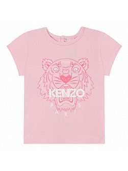 Girls T-Shirt `Jungle` theme by Kenzo