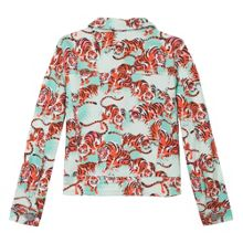 Kenzo Girls green jacket `Jungle` theme