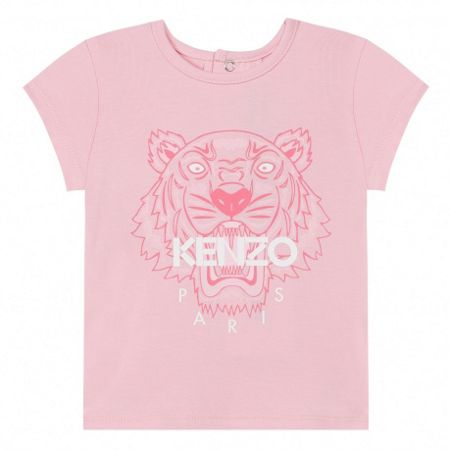 Kenzo Girls T-Shirt `Tiger Kiosque` theme