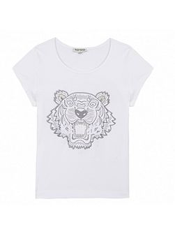 Girls T-Shirt Tiger Kiosque` theme