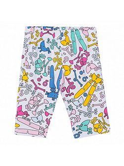 Girls leggings `Funny Toys` theme