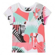 Kenzo Baby girls `Animals Party` T-Shirt
