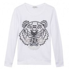 Kenzo Girls sweatshirt `Tiger Kiosque` theme