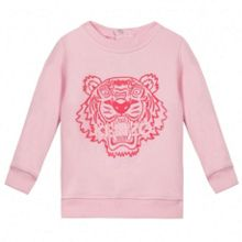 Kenzo Girls sweatshirt  Tiger Kiosque theme