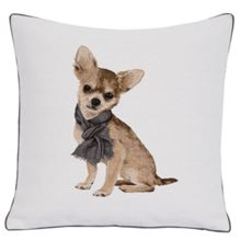 Bibi Blanc Cushion Cover 45x45