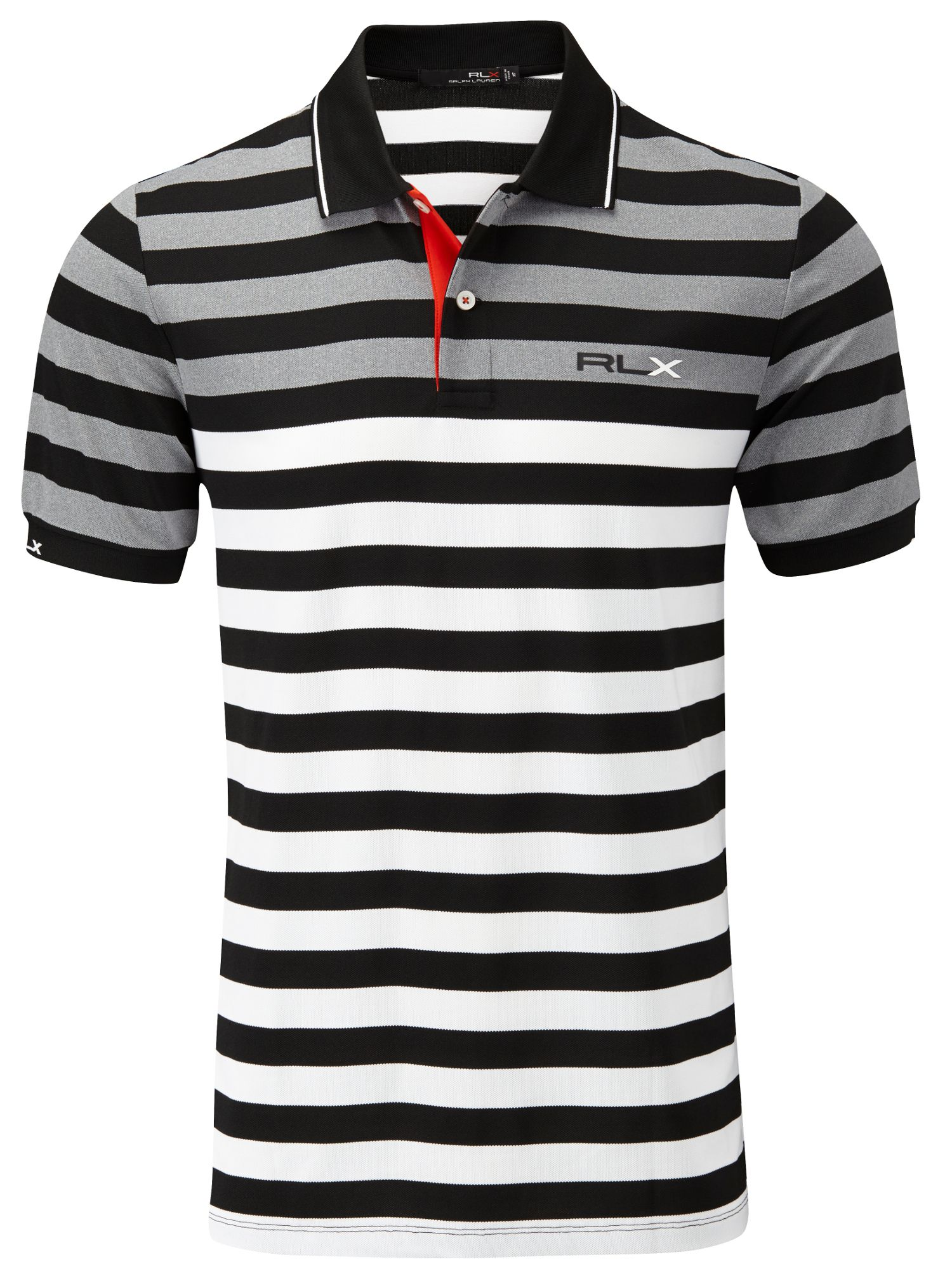 Multi stripe polo shirt tour fit
