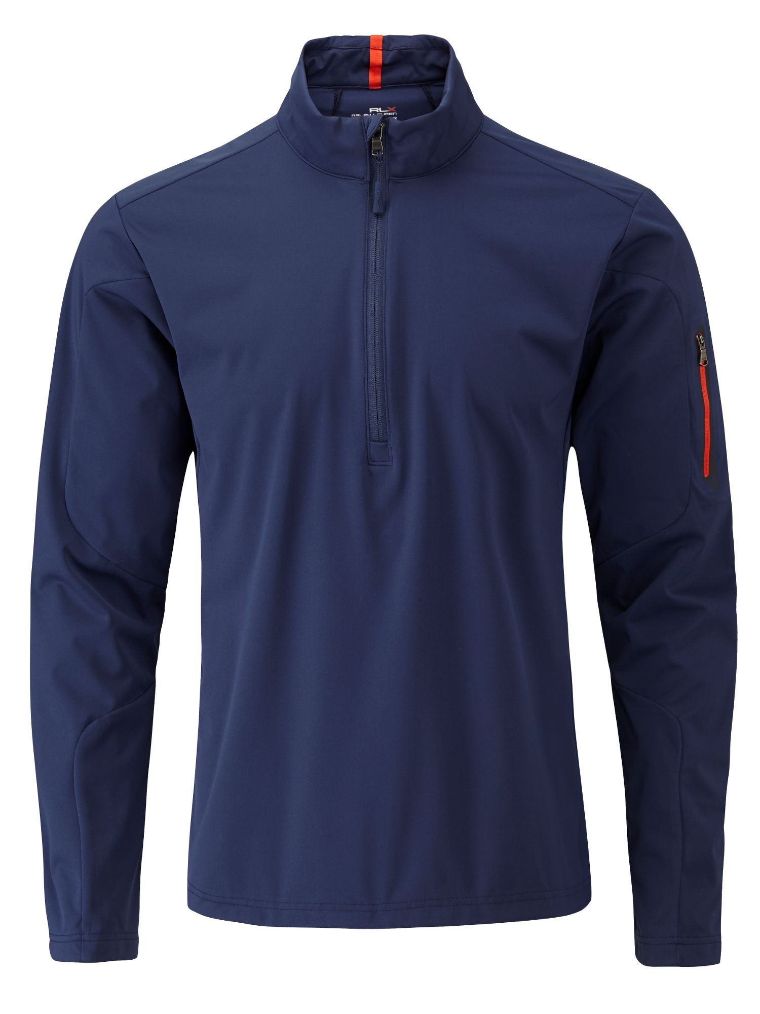 Stratus half zip wind top