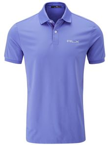 Solid pro fit polo shirt