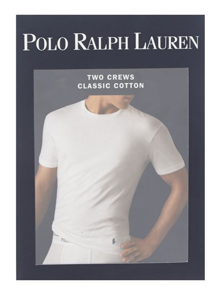Polo Ralph Lauren 2 pack classic crew neck t-shirt