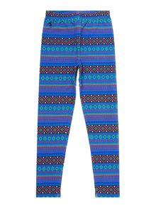 Girls plaid tartan leggings