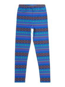Girls Fairisle Leggings