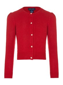 Polo Ralph Lauren Girls Classic Cardigan