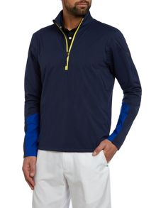 Stratus Plain Half Zip Jumper