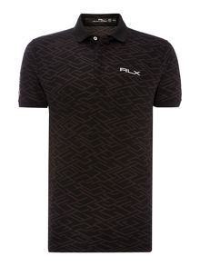 Printed Tech Polo Shirt