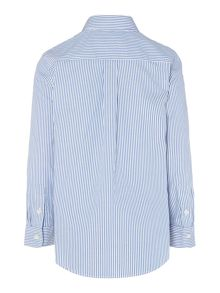 Boys Long Sleeved Thin Stripe Shirt