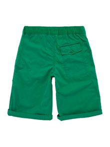 Boys Elastic Waistband Shorts With Small Pony