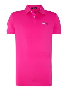Performance solid polo