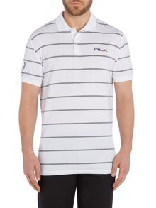 RLX Ralph Lauren Performance stripe polo