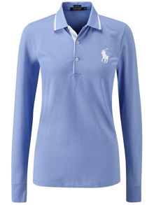 Val Long Sleeve Polo