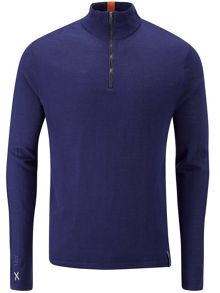 RLX Ralph Lauren Golf Links lined half zip sweater