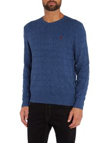 Polo Ralph Lauren Tussah Silk Cable Knit Jumper