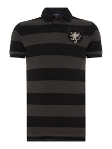 Polo Ralph Lauren Wide stripe short sleeve polo