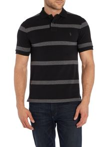 Stripe Slim Fit Polo Shirt