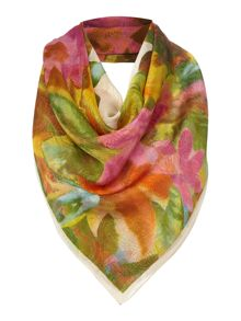 gia large square silk scarf