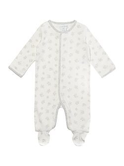 Newborn long sleeved all-in-one