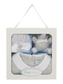 Polo Ralph Lauren Newborn 3 Piece Gift Box