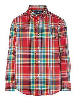Polo Ralph Lauren Boys Long Sleeve Checked Shirt