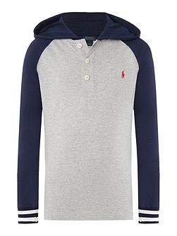 Polo Ralph Lauren Boy Long Sleeve Hooded Rugby