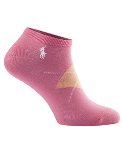 Polo Ralph Lauren Golf Argyle 3 Pack Sock
