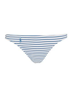 Chambray stripe hipster