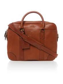 Polo Ralph Lauren Leather commuter bag