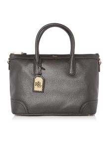 Lauren Ralph Lauren Fairfield black medium satchel