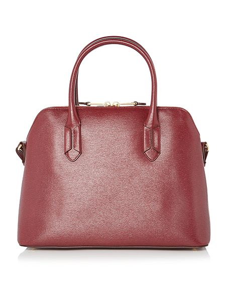 Ralph Lauren Tate Dome Satchel Laukku : Lauren ralph tate burgundy dome satchel house of