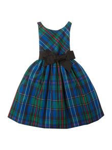 Polo Ralph Lauren Girls sleeveless tartan dress