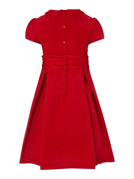 Polo Ralph Lauren Girls cap sleeved dress with round collared