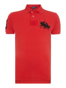 Polo Ralph Lauren Regular fit dual big polo player polo