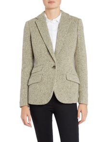 Lauren Ralph Lauren Ayvirie 1 button wool jacket